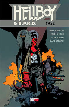 Copertina HELLBOY & B.P.R.D. n.1 - 1952, MAGIC PRESS