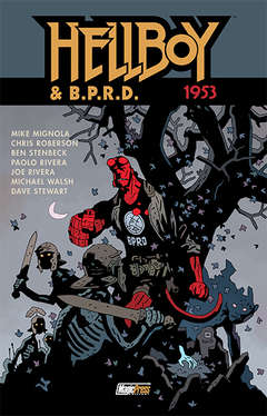 Copertina HELLBOY & B.P.R.D. n.2 - 1953, MAGIC PRESS