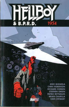 Copertina HELLBOY & B.P.R.D. n.3 - 1954, MAGIC PRESS