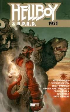 Copertina HELLBOY & B.P.R.D. n.4 - 1955, MAGIC PRESS