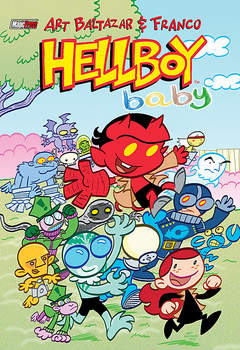 Copertina HELLBOY BABY n.1 - HELLBOY BABY, MAGIC PRESS