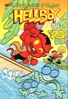Copertina HELLBOY BABY n.2 - HELLBOY BABY VOL.2, MAGIC PRESS
