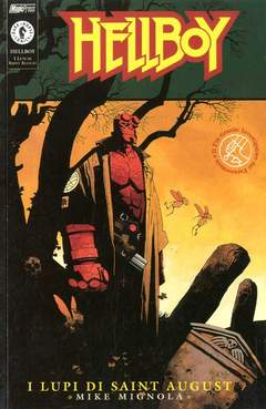 Copertina HELLBOY LUPI DI SAINT AUGUST n.0 - I LUPI DI SAINT AUGUST, MAGIC PRESS