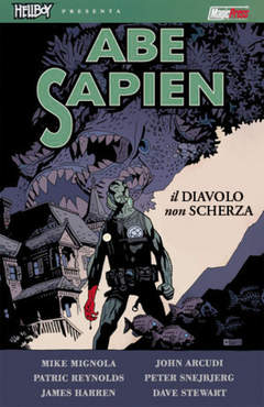 Copertina HELLBOY PRESENTA ABE SAPIEN n.2 - HELLBOY PRESENTA ABE SAPIEN VOL.2: IL DIAVOLO NON SCHERZA, MAGIC PRESS