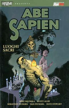 Copertina HELLBOY PRESENTA ABE SAPIEN n.5 - LUOGHI SACRI, MAGIC PRESS