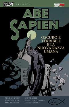 Copertina HELLBOY PRESENTA ABE SAPIEN n.3 - OSCURO E TERRIBILE & LA NUOVA RAZZA UMANA, MAGIC PRESS