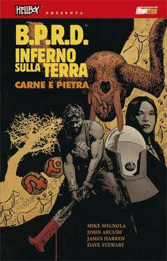 Copertina HELLBOY PRESENTA BPRD INFERNO SULLA TERRA n.11 - CARNE E SANGUE, MAGIC PRESS