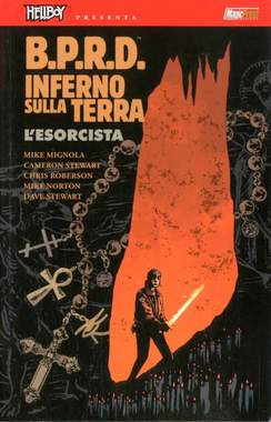 Copertina HELLBOY PRESENTA BPRD INFERNO SULLA TERRA n.14 - L'ESORCISTA, MAGIC PRESS