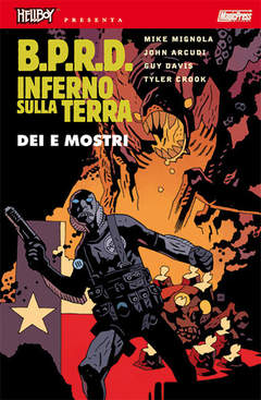 Copertina HELLBOY PRESENTA BPRD INFERNO SULLA TERRA n.2 - DEI E MOSTRI, MAGIC PRESS