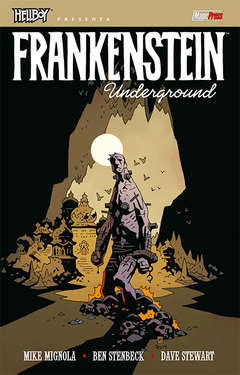 Copertina HELLBOY PRESENTA n. - FRANKENSTEIN UNDERGROUND, MAGIC PRESS