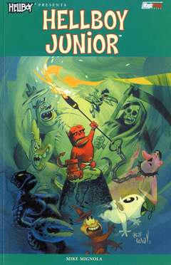 Copertina HELLBOY PRESENTA n. - HELLBOY PRESENTA: HELLBOY JUNIOR, MAGIC PRESS