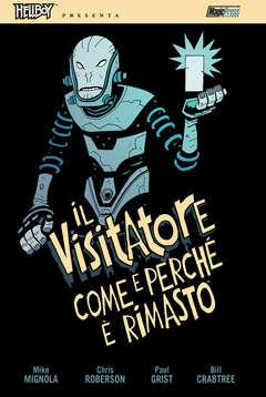 Copertina HELLBOY PRESENTA IL VISITATORE n. - IL VISITATORE, MAGIC PRESS