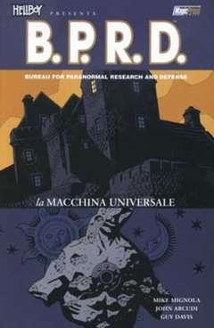 Copertina HELLBOY PRESENTA B.P.R.D. n.6 - LA MACCHINA UNIVERSALE, MAGIC PRESS