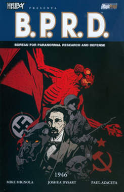 Copertina HELLBOY PRESENTA B.P.R.D. n.9 - 1946, MAGIC PRESS