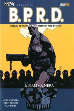 Copertina HELLBOY PRESENTA B.P.R.D. Rist n.5 - LA FIAMMA NERA, MAGIC PRESS