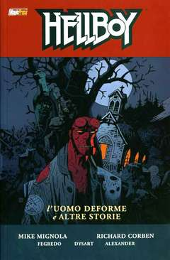 Copertina HELLBOY Serie n.10 - L'UOMO DEFORME E ALTRE STORIE, MAGIC PRESS