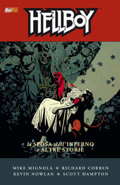Copertina HELLBOY Serie n.11 - LA SPOSA DELL'INFERNO E ALTRE STORIE, MAGIC PRESS