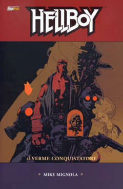 Copertina HELLBOY Serie n.5 - IL VERME CONQUISTATOR, MAGIC PRESS