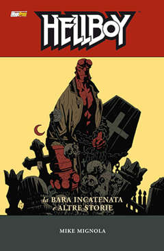 Copertina HELLBOY Serie n.3 - LA BARA IN CATENE E ALTRE STORIE, MAGIC PRESS