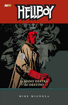 Copertina HELLBOY Serie n.4 - LA MANO DESTRA DEL DESTINO, MAGIC PRESS