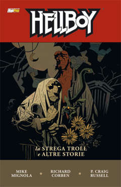 Copertina HELLBOY Serie n.7 - LA STREGA TROLL E ALTRE STORIE, MAGIC PRESS