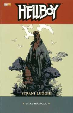 Copertina HELLBOY Serie n.6 - STRANI LUOGHI, MAGIC PRESS