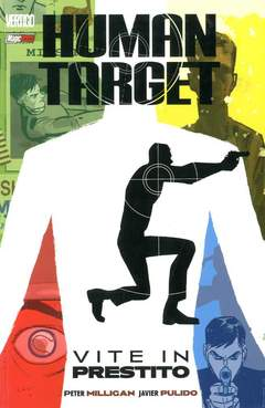 Copertina HUMAN TARGET n.1 - VITE IN PRESTITO, MAGIC PRESS