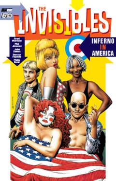 Copertina INVISIBLES n.5 - INFERNO IN AMERICA, MAGIC PRESS