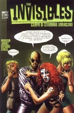 Copertina INVISIBLES n.8 - CAMPO DI CONCENTRAMENTO AMERICANO, MAGIC PRESS