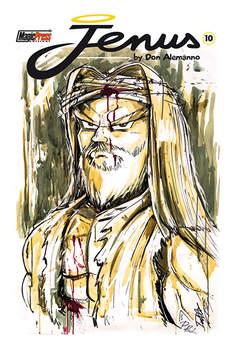 Copertina JENUS DI NAZARETH n.10 - JENUS DI NAZARETH VOL.10, MAGIC PRESS