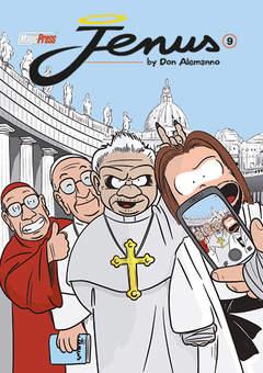 Copertina JENUS DI NAZARETH n.9 - JENUS DI NAZARETH, MAGIC PRESS