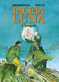 Copertina JODOROWSKY n. - FACCIA DI LUNA: L'INTEGRALE, MAGIC PRESS