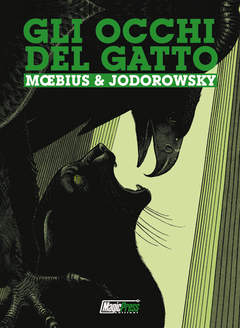 Copertina JODOROWSKY n. - GLI OCCHI DEL GATTO: L'INTEGRALE, MAGIC PRESS