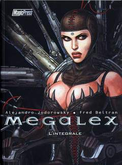 Copertina JODOROWSKY n. - MEGALEX: L'INTEGRALE, MAGIC PRESS