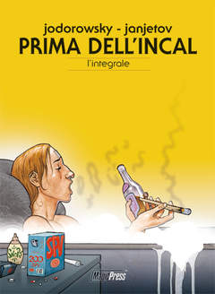 Copertina JODOROWSKY n. - PRIMA DELL'INCAL: L'INTEGRALE, MAGIC PRESS