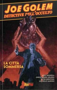 Copertina JOE GOLEM n.3 - LA CITTA' SOMMERSA, MAGIC PRESS