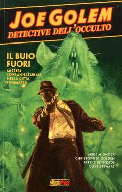 Copertina JOE GOLEM n.2 - OSCURITA' PROFONDA, MAGIC PRESS