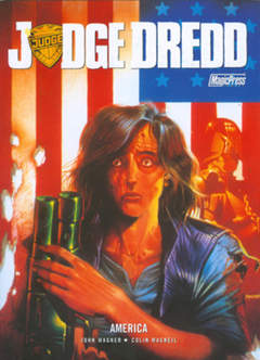 Copertina JUDGE DREDD n. - JUDGE DREDD: AMERICA, MAGIC PRESS