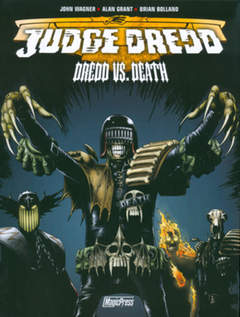Copertina JUDGE DREDD n. - JUDGE DREDD: DREDD VS DEATH, MAGIC PRESS