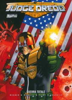 Copertina JUDGE DREDD n. - JUDGE DREDD: GUERRA TOTALE, MAGIC PRESS