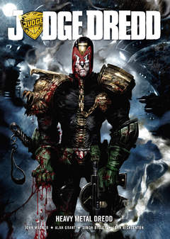 Copertina JUDGE DREDD n. - JUDGE DREDD: HEAVY METAL DREDD, MAGIC PRESS