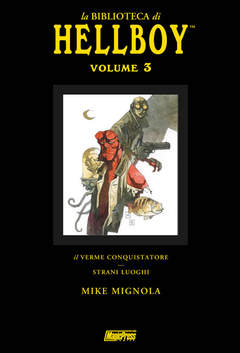 Copertina LA BIBLIOTECA DI HELLBOY n.3 - LA BIBLIOTECA DI HELLBOY VOL.3, MAGIC PRESS