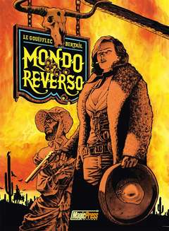 Copertina MONDO REVERSO n.1 - CORNELIA & LINDBERGH, MAGIC PRESS