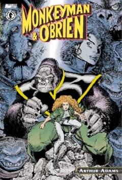 Copertina MONKEYMAN & O'BRIEN n.0 - MONKEYMAN E O'BRIEN, MAGIC PRESS