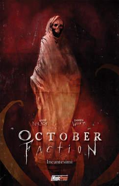 Copertina OCTOBER FACTION n.3 - INCANTESIMI, MAGIC PRESS