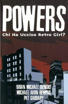 Copertina POWERS n.1 - CHI HA UCCISO RETRO GIRL?, MAGIC PRESS
