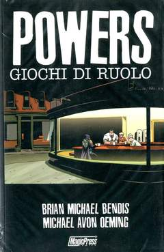 Copertina POWERS n.2 - GIOCHI DI RUOLO, MAGIC PRESS