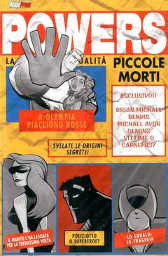 Copertina POWERS n.3 - PICCOLE MORTI, MAGIC PRESS