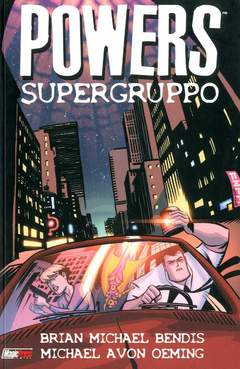 Copertina POWERS n.4 - SUPERGRUPPO, MAGIC PRESS