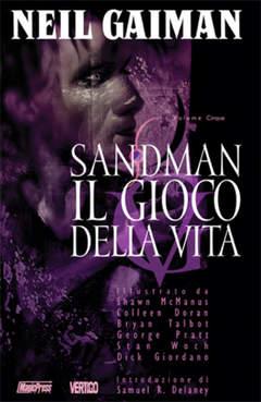 Copertina SANDMAN 05 GIOCO DELLA VITA n.0 - SANDMAN-IL GIOCO DELLA VITA, MAGIC PRESS